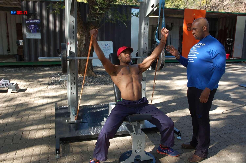 Multi Sport Express A Team Cactic Fitness Claude Maphosa 8