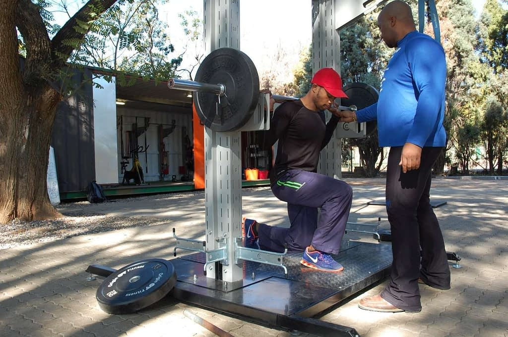Multi Sport Express A Team Cactic Fitness Claude Maphosa 2