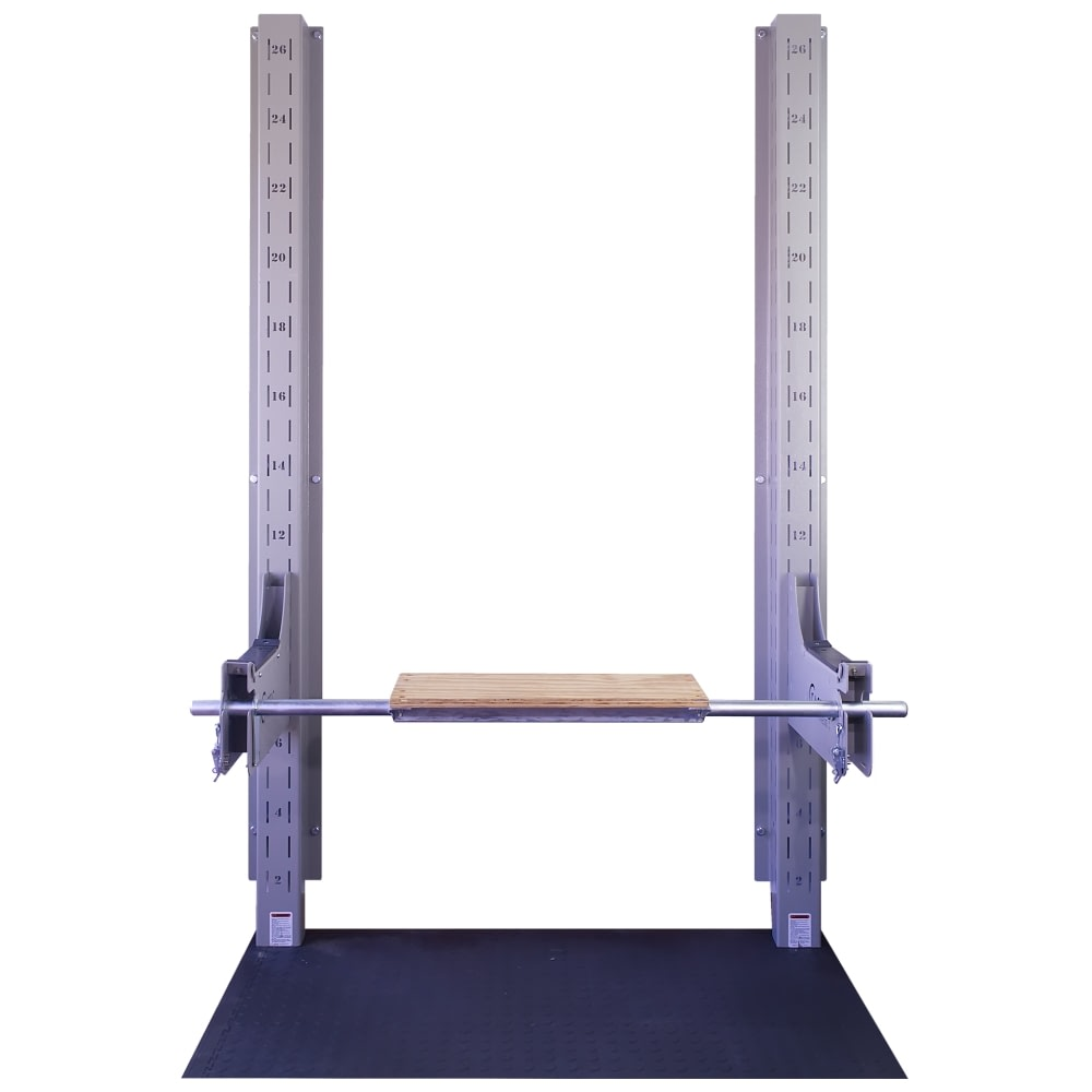 Lower Body Arm Bottom with Box Jump Middle