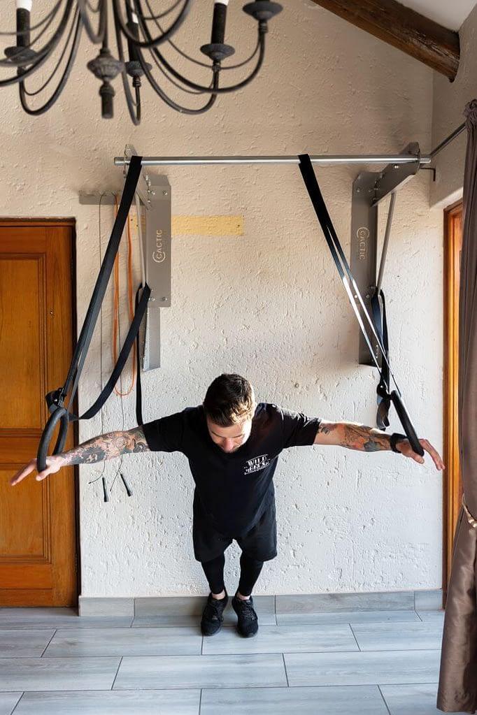 Kippping Bar Gym Rings